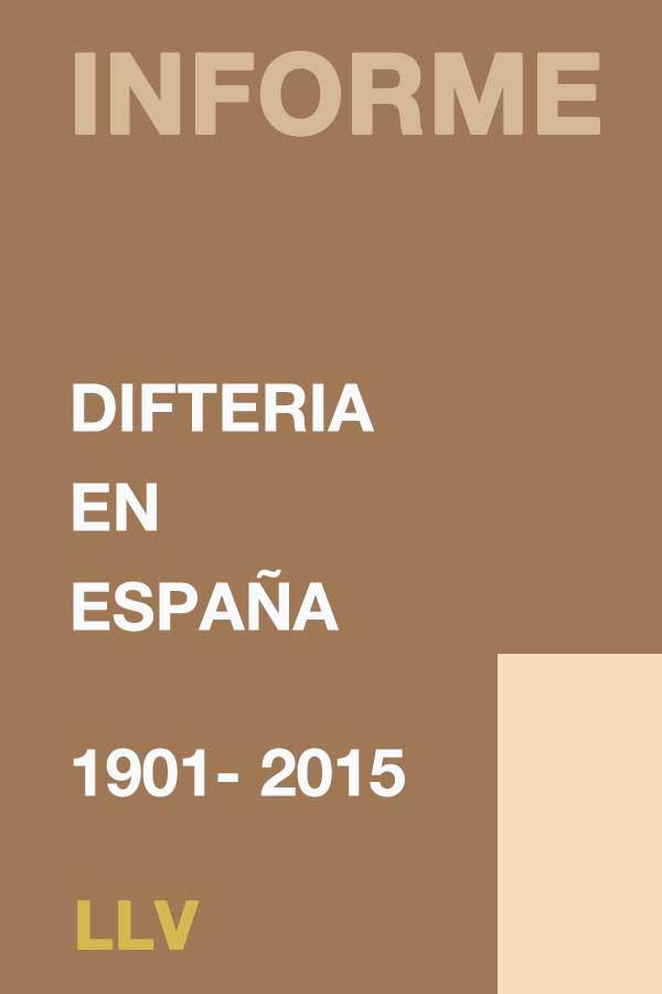 Difteria en España 1901 – 2015