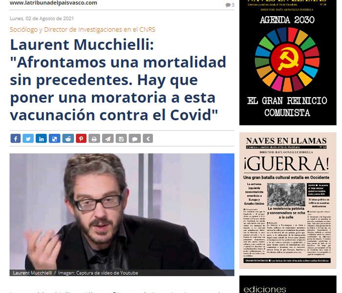 Artículo de obligada lectura en la «Tribuna del País Vasco»
