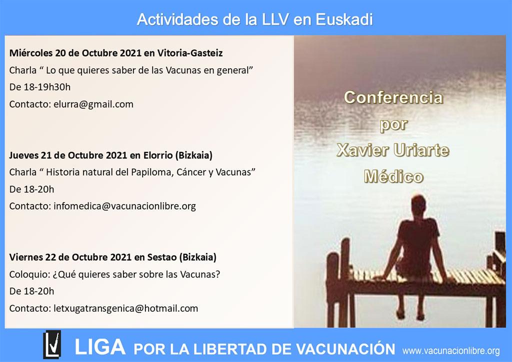Próximas actividades de La Liga en Euskadi