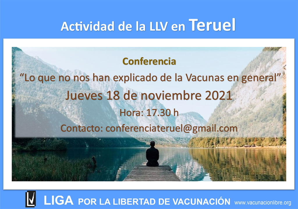 Conferencia de La Liga en Teruel en Noviembre